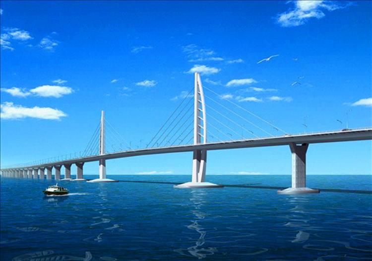 港澳珠大桥成为世界之最图片